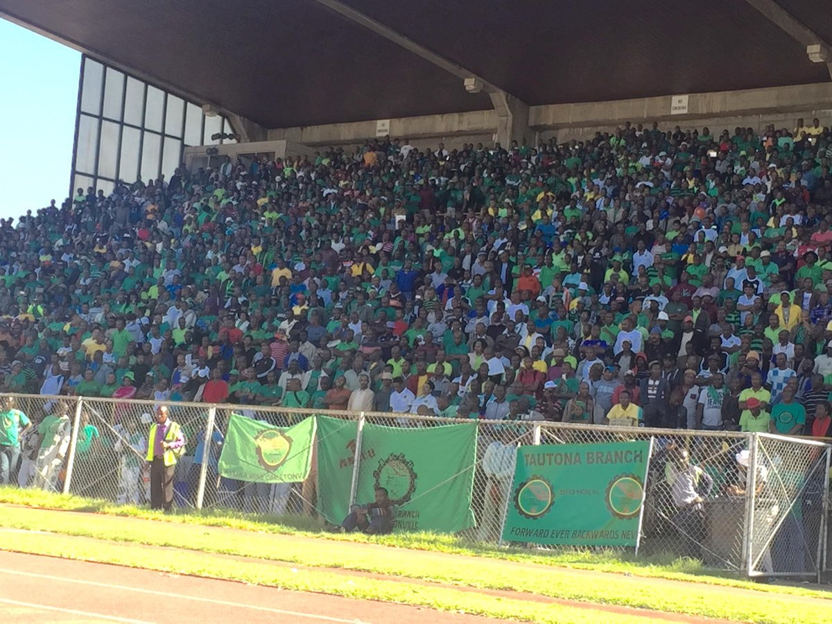 Mathunjwa has started speaking #amcu #mayday http://t.co/rucjMPVrM9