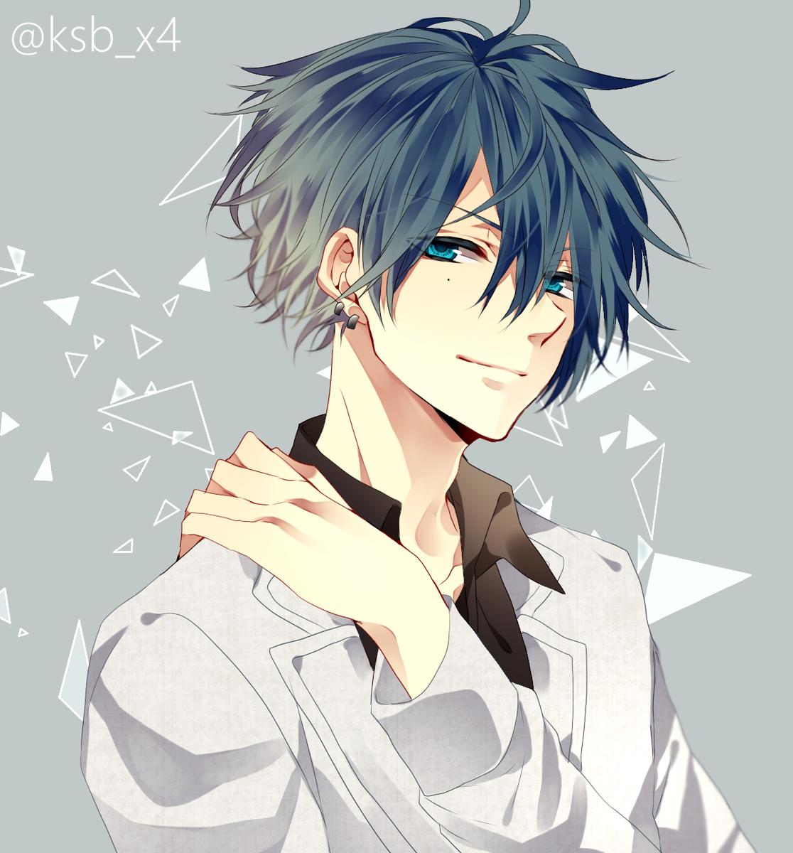 """カシバ? on twitter: """"青髪男子 http://t.co/stg1zjssgf"""""""