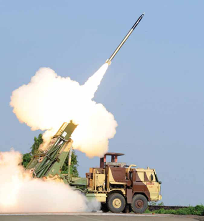 After Pinaka MK-II, Next is Pinaka Short Range Ballistic Missile: DRDO