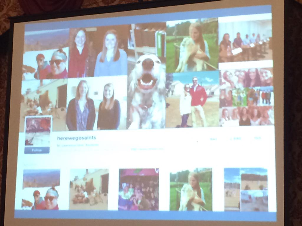 But some institutions being creative like @StLawrenceU's student Instagram takeovers #casesmc http://t.co/xPG5js6ZxK