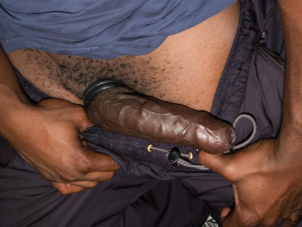 Extrabigdicks i do have a thing for hot big black dick men