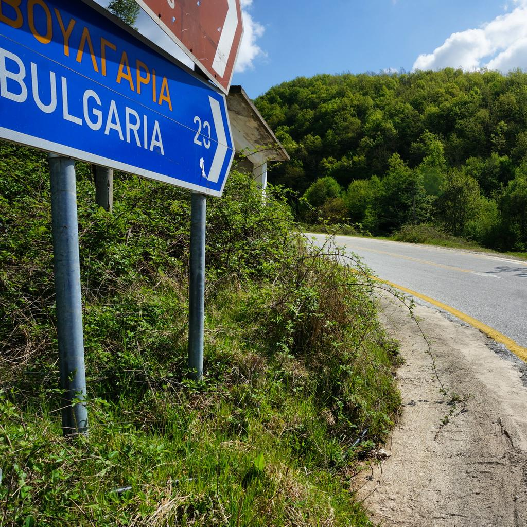 Border ahead... Northern Greece's Pomak villages are right by the Bulgaria border. #LPinGreece http://t.co/rip8ZxcOgD