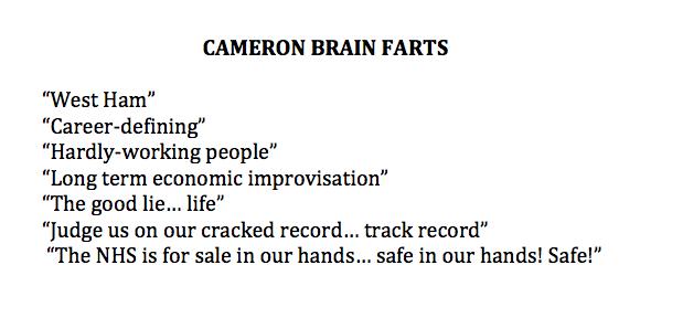 Latest #CameronBrainFarts: updated list. http://t.co/Q2DTvQqmVW