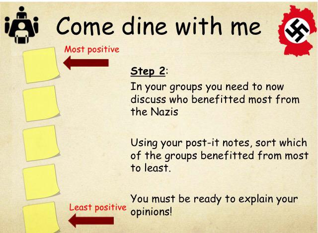 History speed dating