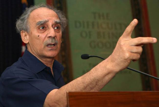 EXCLUSIVE: Trimurti of Modi, Shah, Jaitley running BJP, says former NDA minister Arun Shourie http://t.co/CjBKccnfZx
