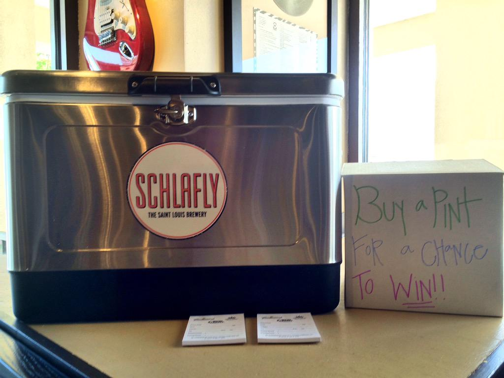 Southern Beverage On Twitter Want To Win A Schlafly Cooler Theres One Up For Grabs At Soulshine In Flowood Order Kolsch Enter
