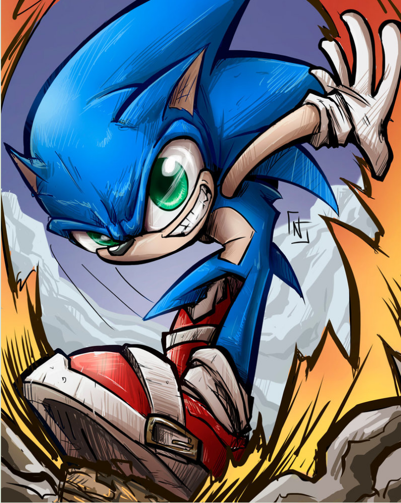 Sonic The Hedgehog On Twitter Todays Fan Art Friday Is From