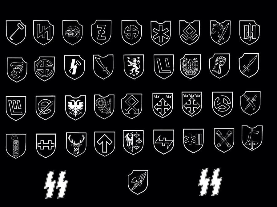 Morriganhammer On Twitter Waffenss Logo And All Of Symbol Of Ss
