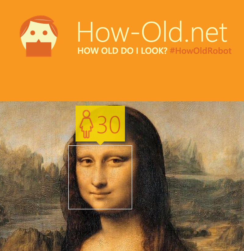 Microsoft tool for guessing age, gender