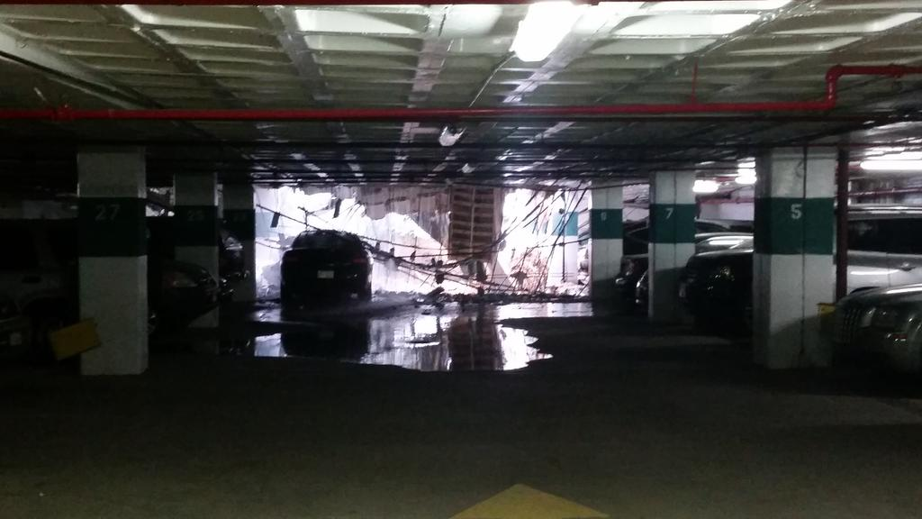 Watergate for Garage Collapse
