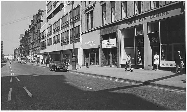 Opened 40 years ago today: The Third Eye Centre, pictured here in 1977 & 1989. Discover more: http://t.co/Mxi6crR2Iy http://t.co/2nspz9YmqT