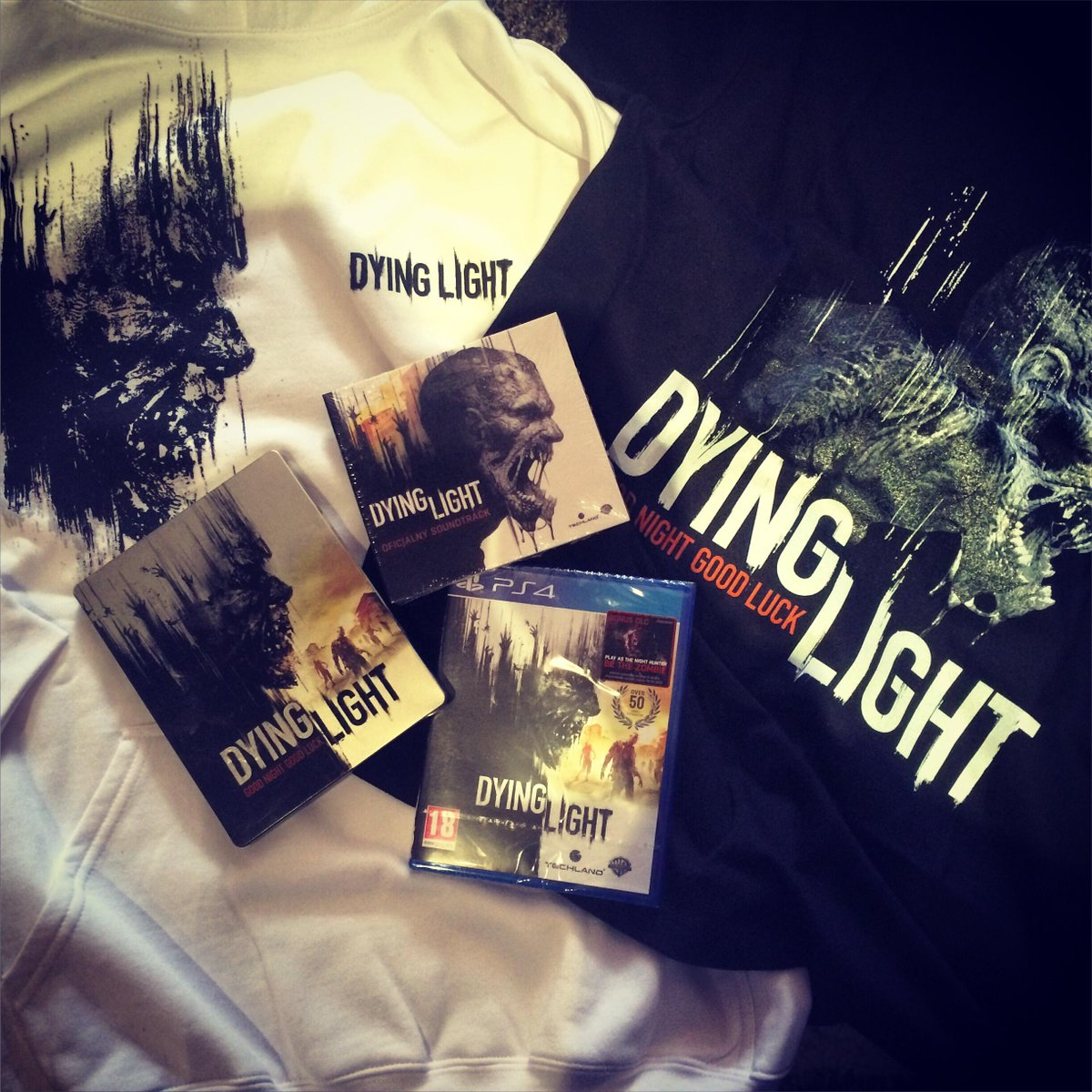 Finally get to play digital me in #DyingLight thanks to the good people @DyingLightGame   #GoodNightGoodLuck