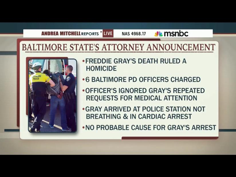 Marilyn Mosby; the states attorney announced the following today; http://t.co/9sy2fi0VbL