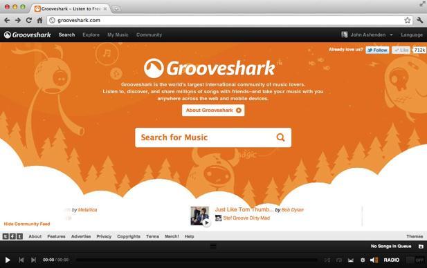 Grooveshark ha chiuso, basta musica streaming dal sito