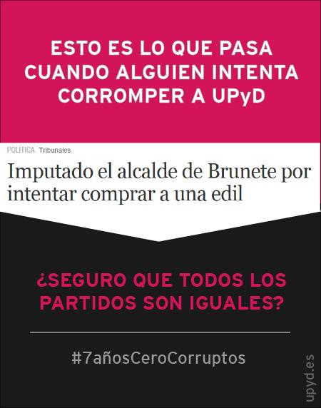 Así somos en UPyD, como Isabel Cotrina, nuestra concejal en Brunete. Resistimos, somos #LIBRES  #YoDenuncié http://t.co/D49EuVasGz