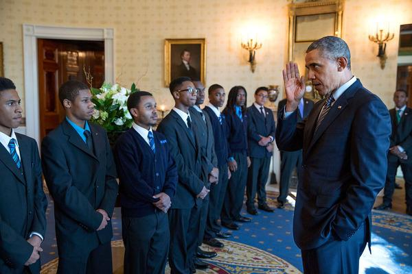 """Obama to launch """"My Brother's Keeper"""" as an independent organization: http://t.co/Vbf2bl2y3G http://t.co/QxckhWaoPp"""