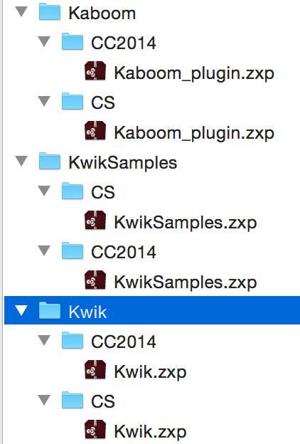 kwik zip folders