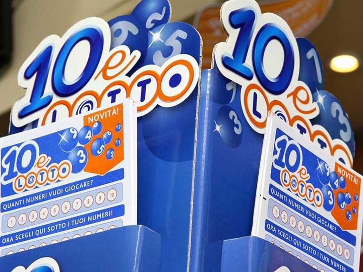 Estrazione del Lotto tutte le ruote e 10eLotto numeri estratti vincenti