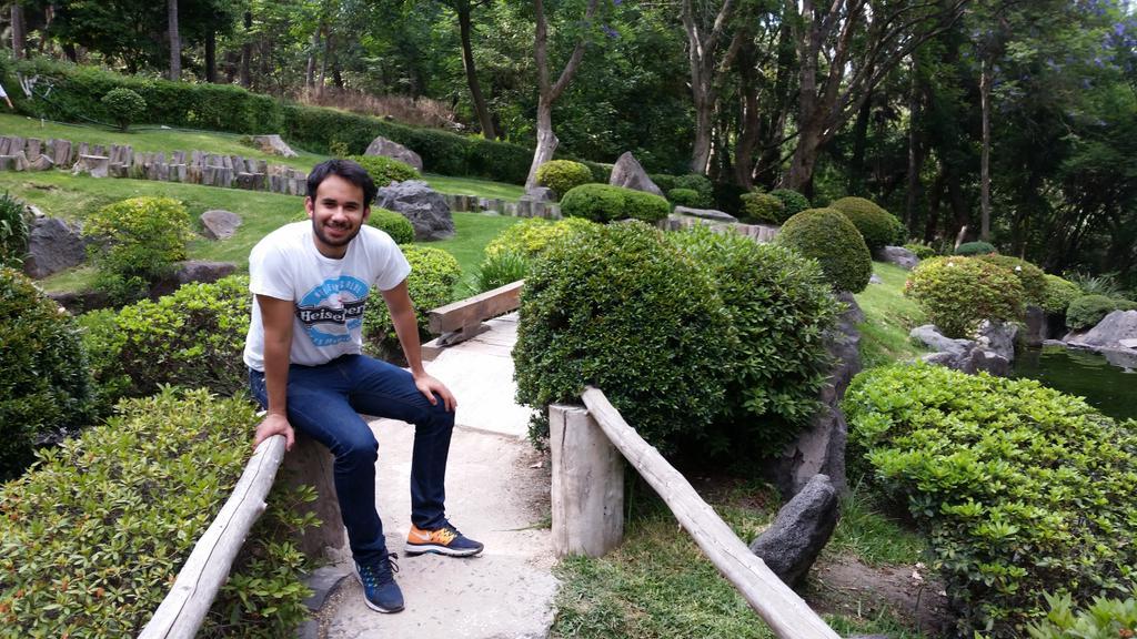 Gabo on twitter en el bonito jardin japones de parque for Jardin japones