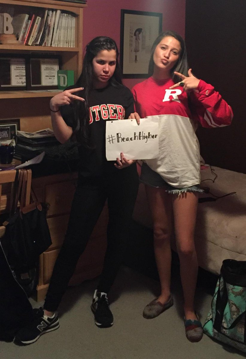 HAPPY DECISION DAY FROM ME AND THE ROOMIE 🔴⚫️ #Rutgers #ReachHigher http://t.co/2bKrjfOb9E
