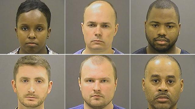 .@Baltimorepolice release photos of the six officers charged in the #FreddieGray case >> http://t.co/76IQHHvmXQ