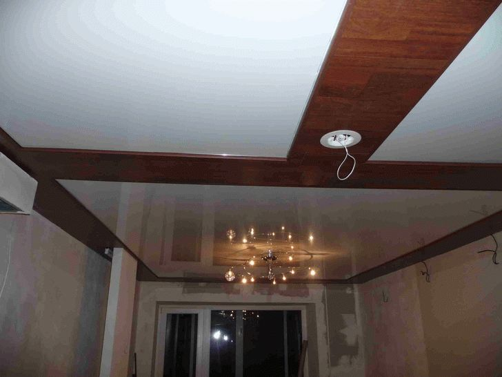 фото потолки из гипсокартона для ванной