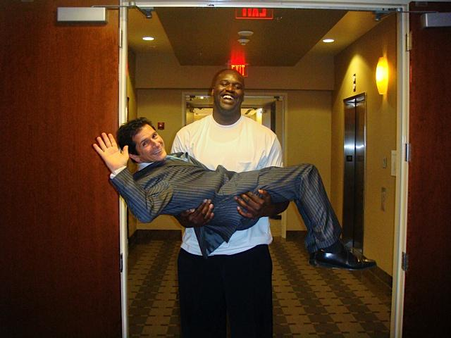 My little buddy @SHAQ has been a giant supporter of @runwaytohope... Last chance to vote!! http://t.co/T5Kswpy3tk http://t.co/u9aQcxD35C