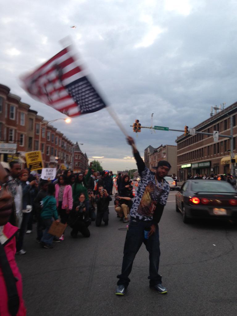 Rania Khalek On Twitter Upside Down American Flag Symbol Of