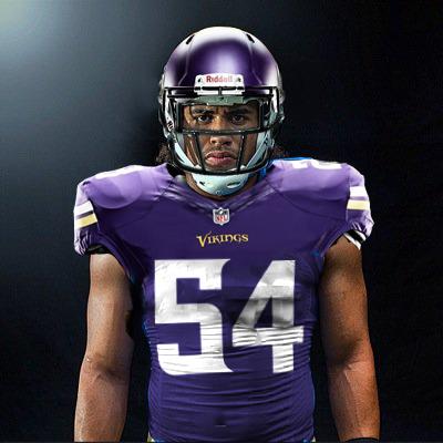 Minnesota Vikings Danielle Hunter GAME Jerseys
