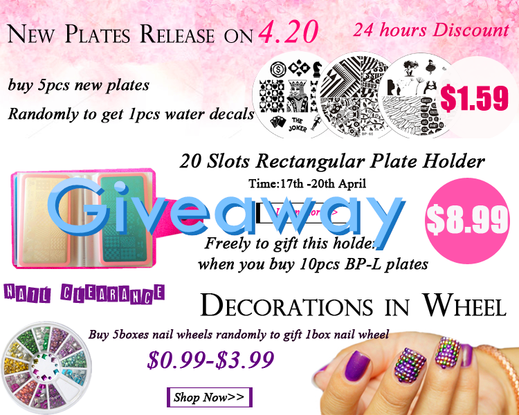 #giveaway Fo+RT&@ 3 of your friends. 10 winners →Prize: 2pcs BP plates.Ends 23th April. http://t.co/Wdpx16EajP http://t.co/VbzYqXq6Of