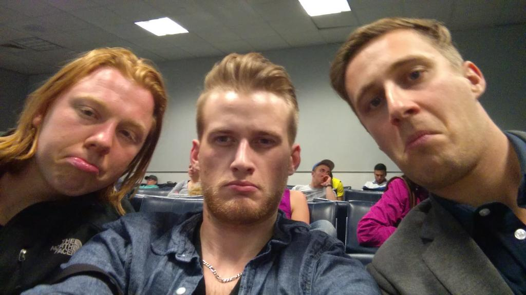 alexmcea: We are stuck in the airport on the way to  #ImagineCommerce disappointed we missed #PreImagine http://t.co/s7QhgZRM7l