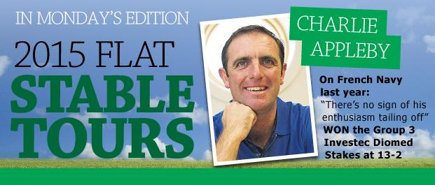 Charlie Appleby Stable Tour