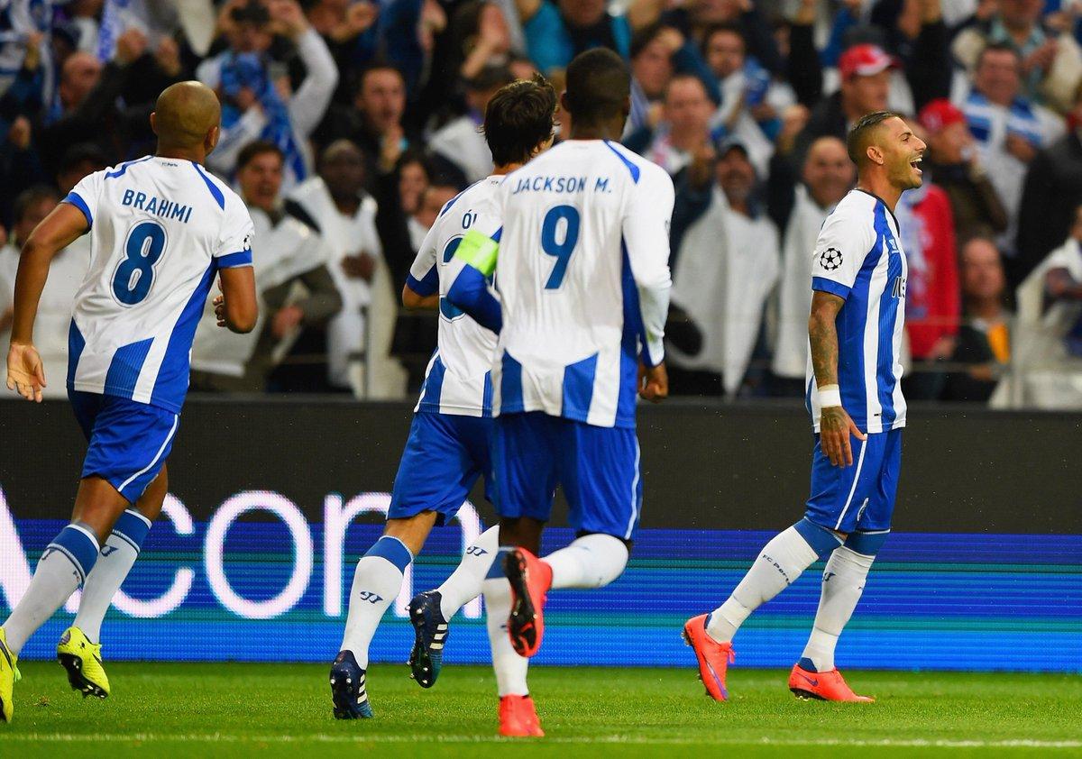 "UEFA Twitter: UEFA Champions League On Twitter: ""Porto Move Above"