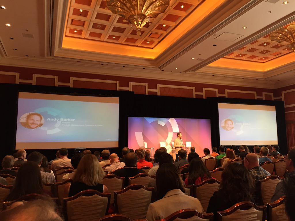 DCKAP: Opening session on #payments getting started after delicious breakfast #ImagineCommerce http://t.co/erfIcPELMw