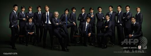 「アルフレッド ダンヒル」、サッカー日本代表のオフィシャルスーツ発売へ http://t.co/au2Ma8yA6E : Photo http://t.co/IBdimHi4E9
