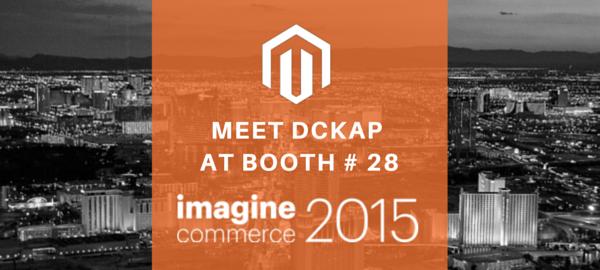 andyrabindra: Attending #ImagineCommerce 2015 #LasVegas ? please stop by at booth 28 to meet the #DCKAP team http://t.co/r8UWsINVoT http://t.co/H1yynX2C5q