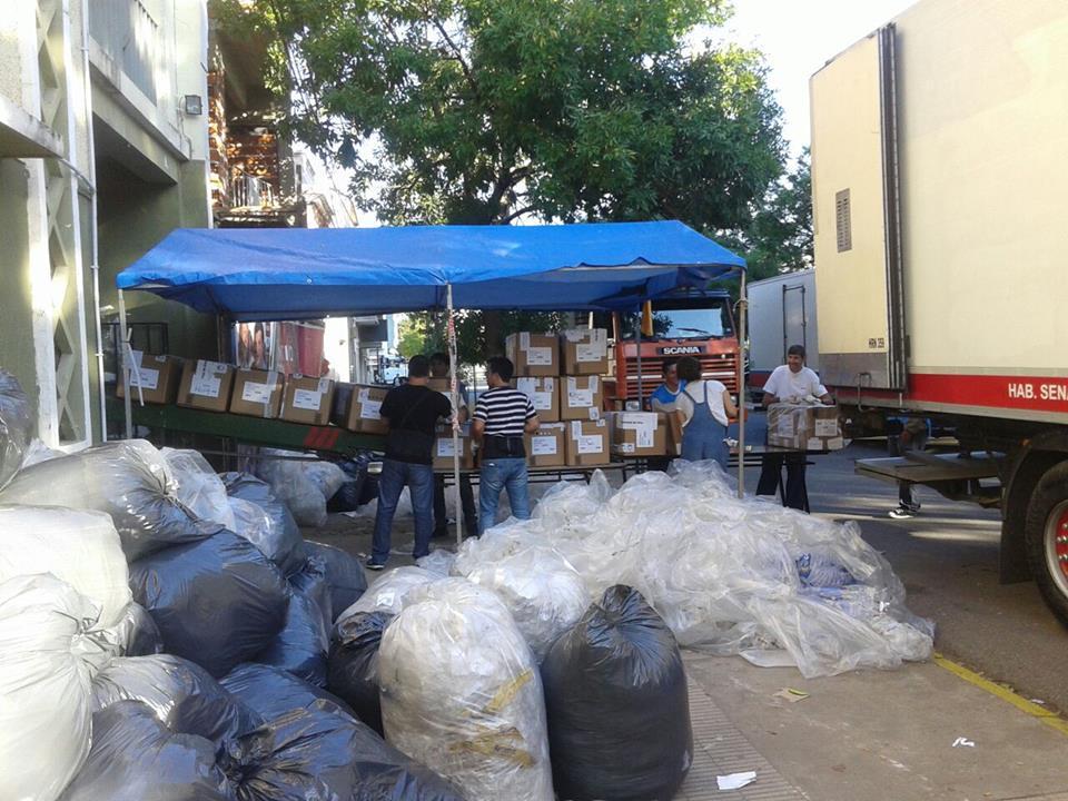 Paso: se trasladan las urnas para el escrutinio definitivo