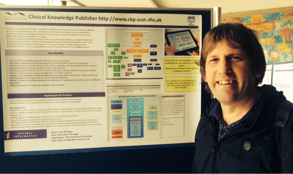 Back at @QMUniversity sharing work using clinical knowledge publisher #folqmu2015 http://t.co/QXA1MIbZJo