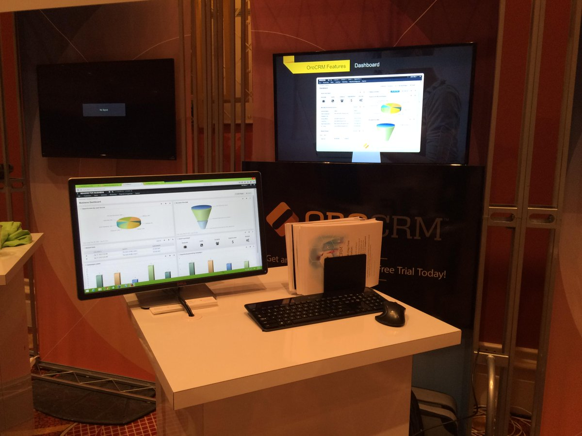 OroCRM: #OroCRM – we are ready for #ImagineCommerce Market Place http://t.co/2Ns8zfODBZ