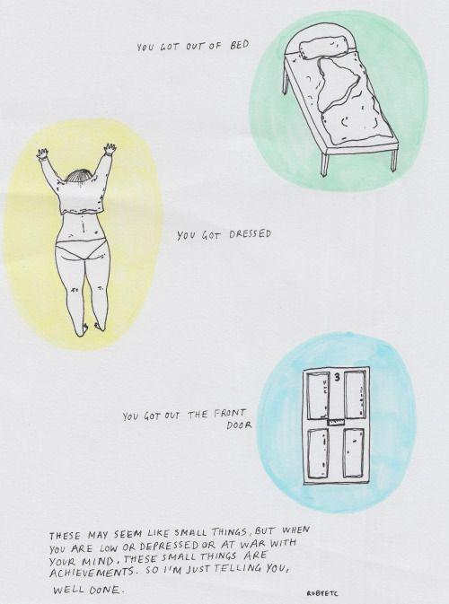 A comic for #depression awareness week, via @rubyetc http://t.co/dBcBnSLpdi