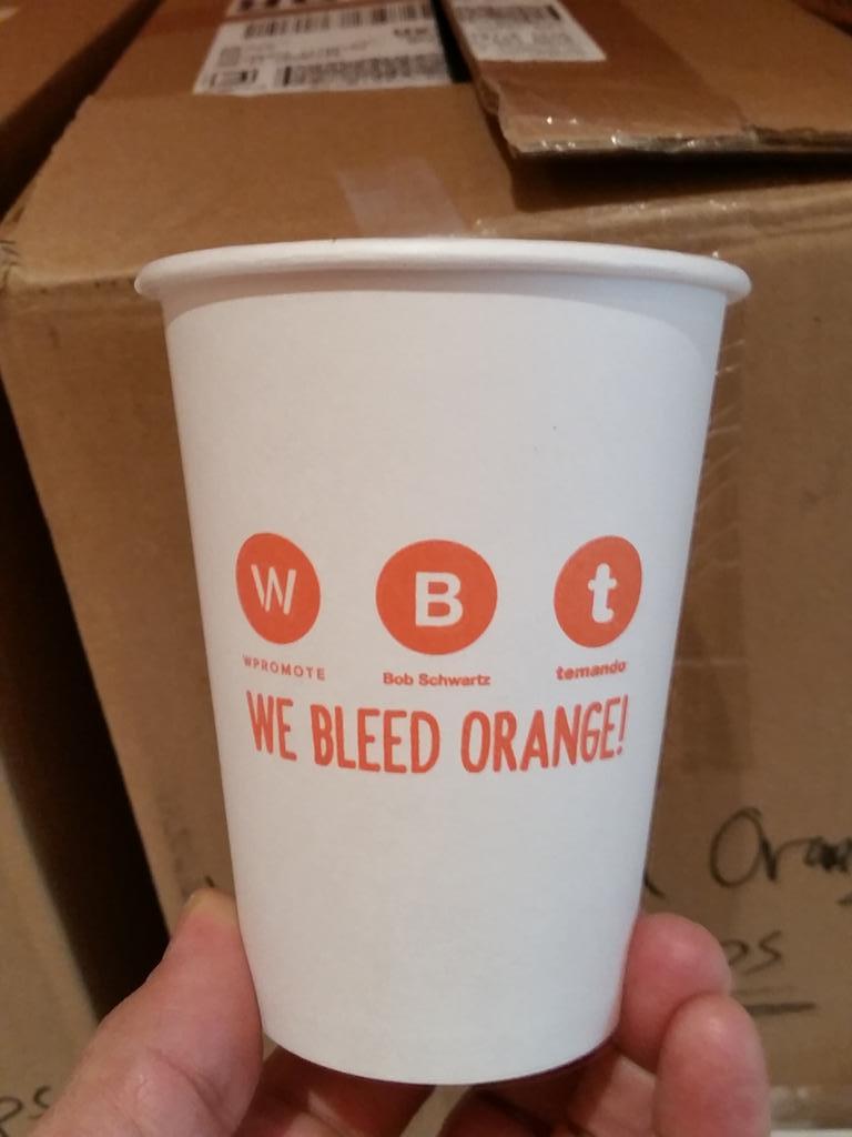 BobSchwartz: .@temando @magentoimagine tomorrow lunch fun #weBleedOrange #ImagineCommerce http://t.co/F8F97IIlII