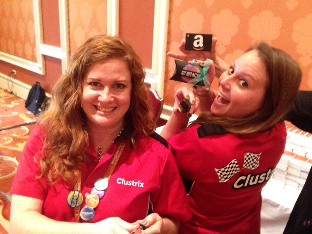 lisaschultz3000: Whoops forgot that photo! @ShipHawk @Clustrix  #ImagineCommerce #LiveFastCLX  @Thunder_Dust http://t.co/vQUgaRVnwy