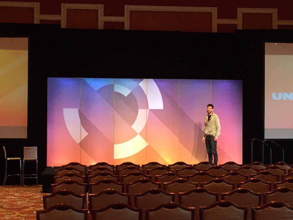 RomainLAMAISON: 1st rehearsal session ! Go on @gthibaux :) /CC @quantacomputing #ImagineCommerce http://t.co/5EllLOZM2V