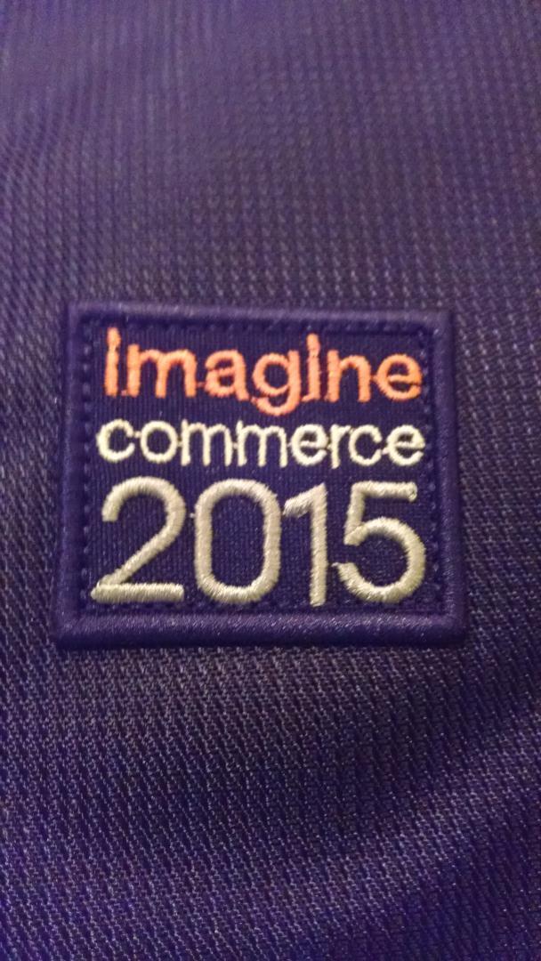 barbanet: @juancsantiago @SantexGroup @mhhansen we're ready! #ImagineCommerce http://t.co/V4F0FRl7LN