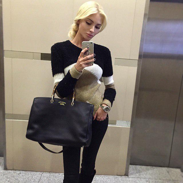 Alena Shishkova on Twitter