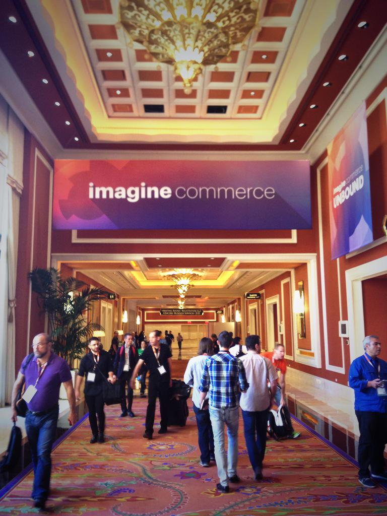 MagentoFeedle: First sessions at #ImagineCommerce about to start - let's roll! http://t.co/6l2DksnXaG via inchoo