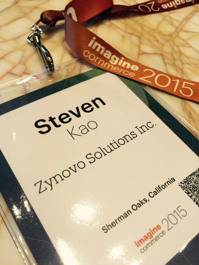 mkstevenkao: We are here at amazing Magento Imagine again this year in LV! If u want to meet, DM me. #magento #Imagine2015 #zynovo http://t.co/Hm0aBtgRfc