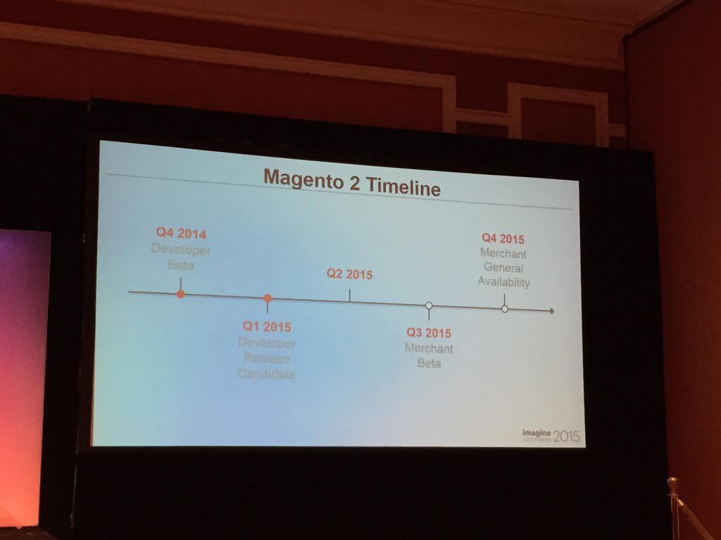 phoenix_medien: #Magento2 timeline available #ImagineCommerce http://t.co/3lJVWpYVU7