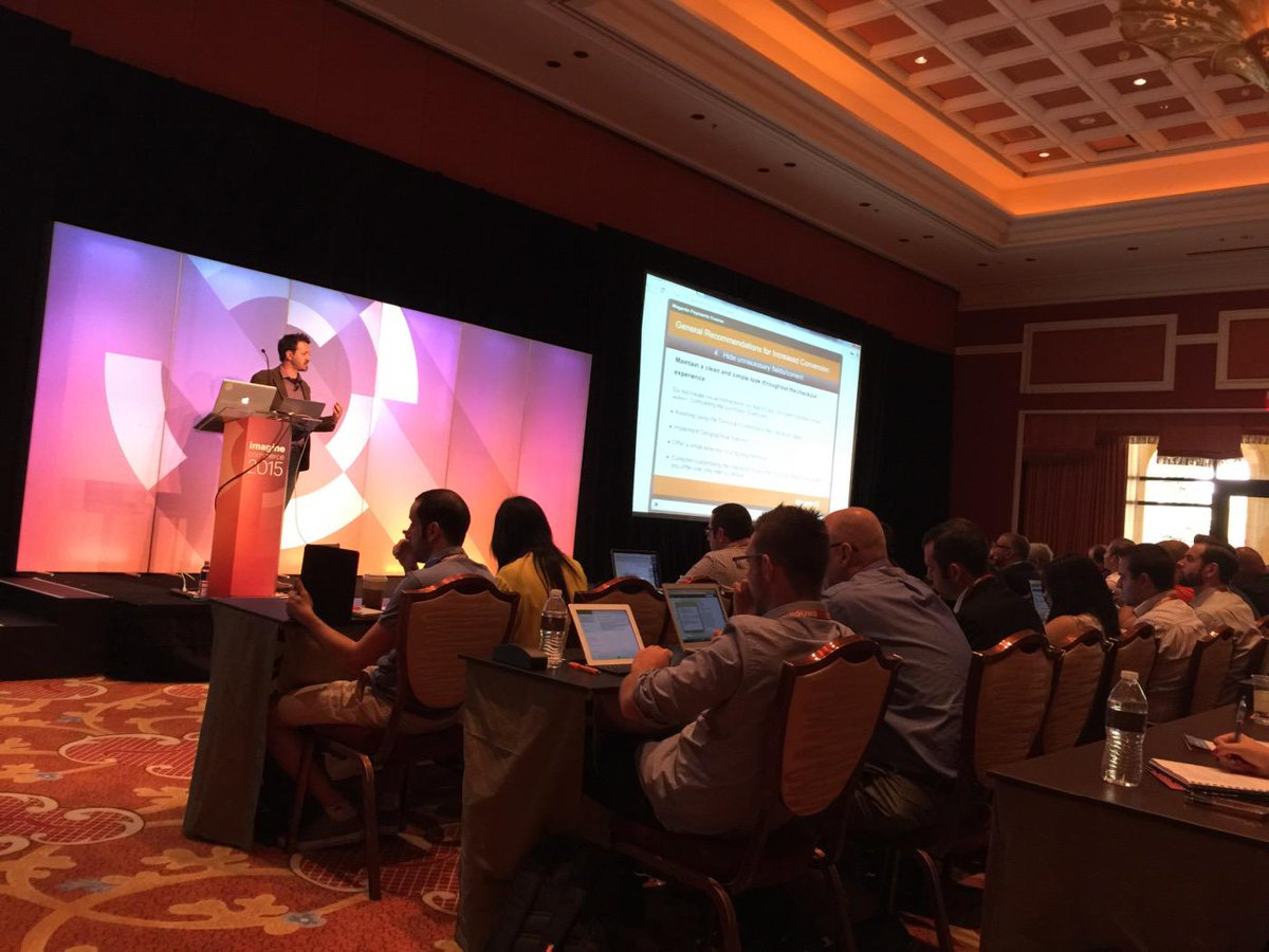 MagentoFeedle: #ImagineCommerce #MagentoU #Payments #StandingRoomOnly http://t.co/RwciJcR8n6 via MagentoUTeam