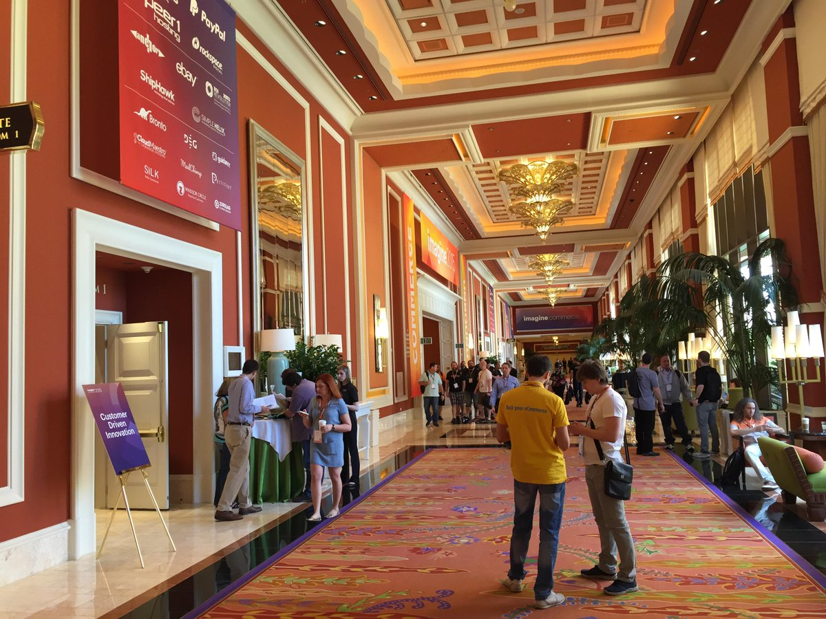 drlrdsen: Again a classy hotel and design of this years #MagentoImagine http://t.co/P5ySAO5BWo